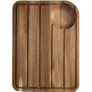 Jamie Oliver Acacia Carving Board with Juice Well