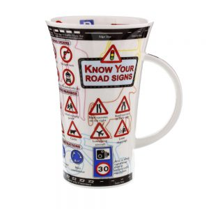 Dunoon Glencoe Know Your Road Signs Mug