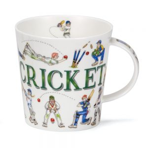 Dunoon Cairngorm Sporting Antics Cricket Mug