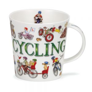 Dunoon Glencoe Sporting Antics Cycling Mug