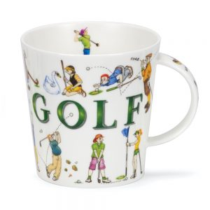 Dunoon Cairngorm Sporting Antics Golf Mug