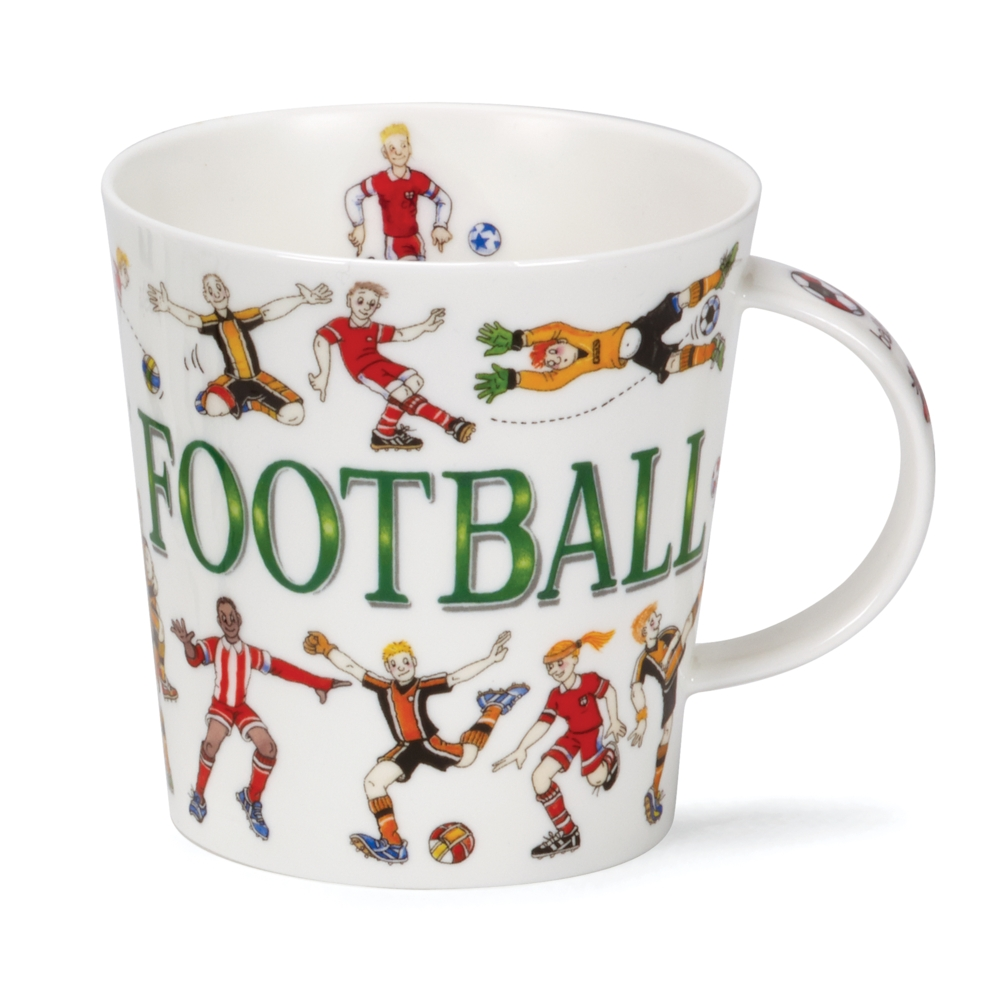 Dunoon Sporting Antics Football Mug