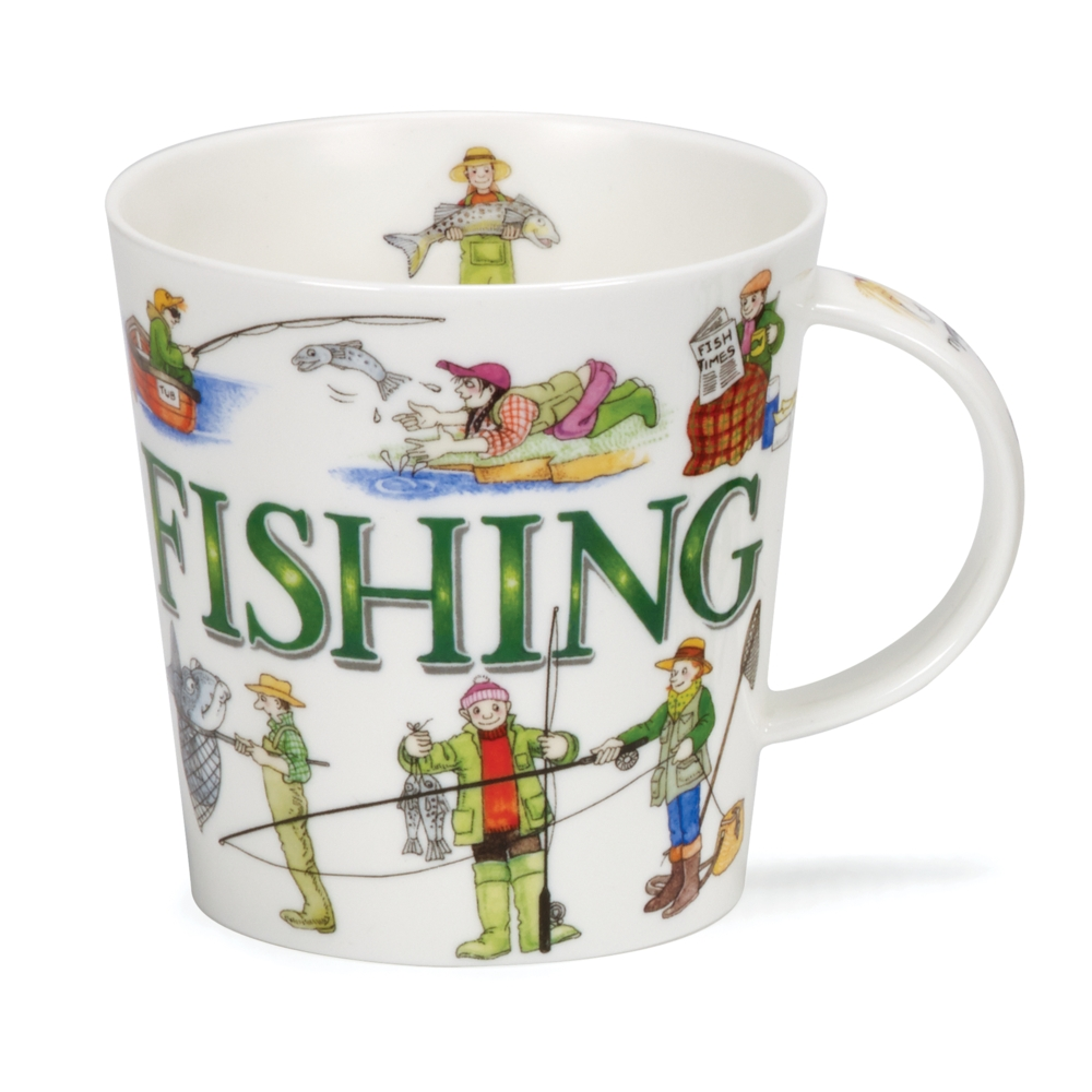 Dunoon Sporting Antics Fishing Mug