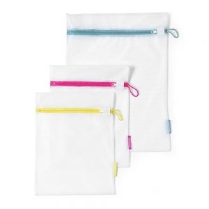 Brabantia Wash Bags 3PC (Two Sizes) White