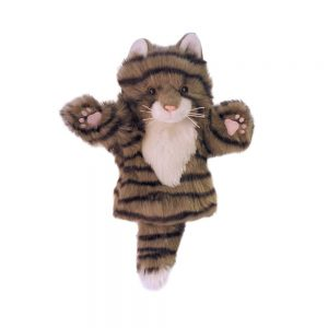 CarPet Glove Puppet Tabby Cat