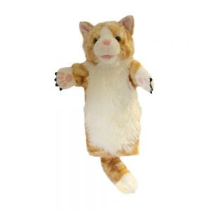 Long Sleeved Puppet Cat Ginger