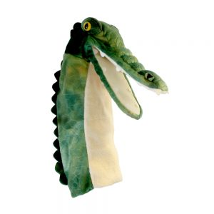 Long Sleeved  Puppet Crocodile