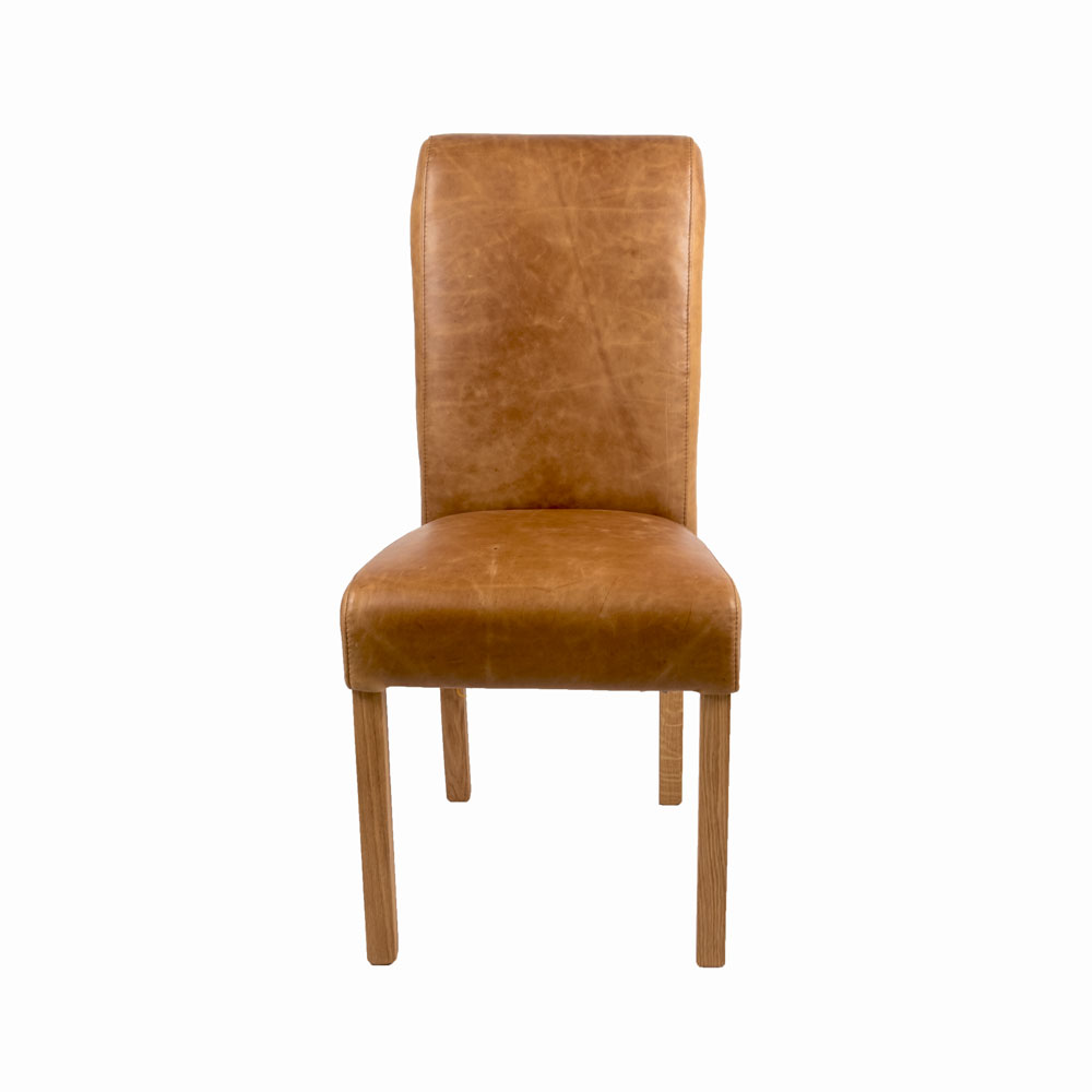 Baby Country Rollback Dining Chair Brown Cerato (Fast Track Delivery)