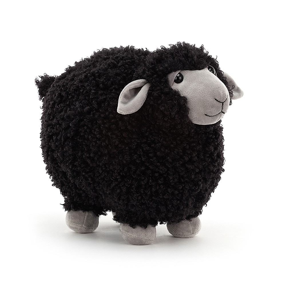 Jellycat Rolbie Black Sheep Small
