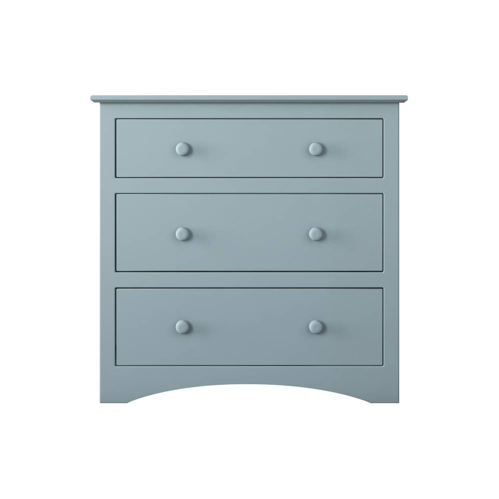 Solar Wide 3 Drawer Chest of Drawers