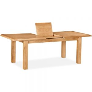 Rural Charm Compact Extending Dining Table