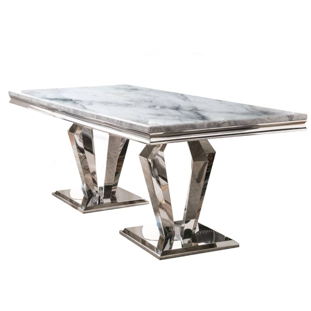 Amalfi Dining Table Grey 200cm