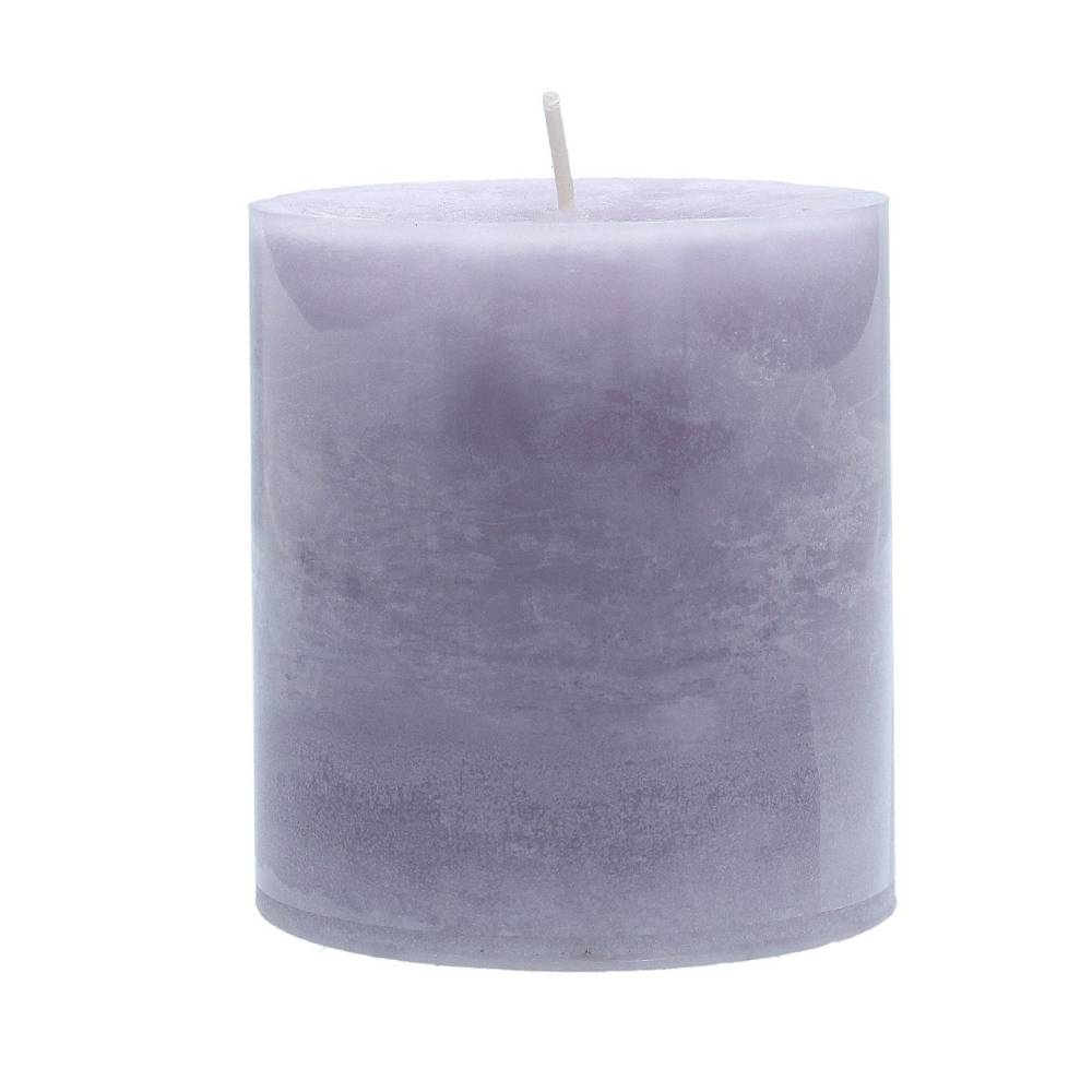 Gisela Graham Lavendar & Lovage Scented Pillar Candle Small