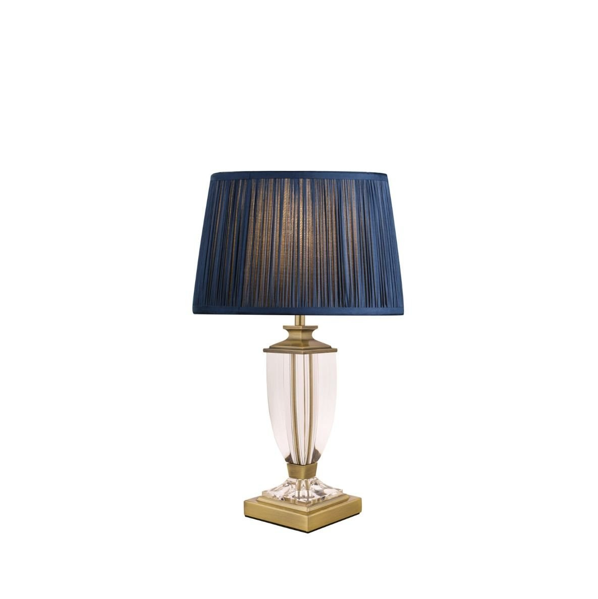 Laura Ashley Carson Antique Brass & Crystal table Lamp Small