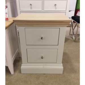 Chatsworth choice 2 drawer small bedside