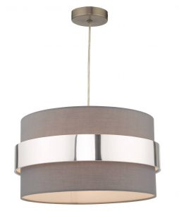Oki Easy Fit Shade With Chrome Band