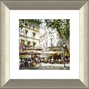 Afternoon In The Piazza Framed Print