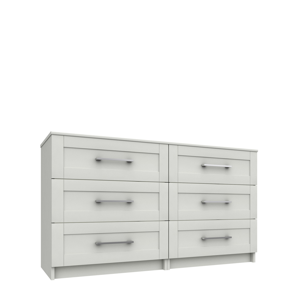 CHILTON 3 DRAWER DOUBLE CHEST
