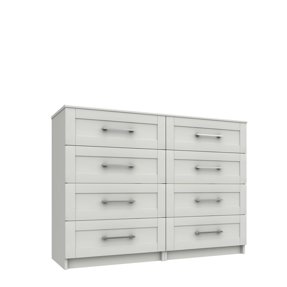 CHILTON 4 DRAWER DOUBLE CHEST