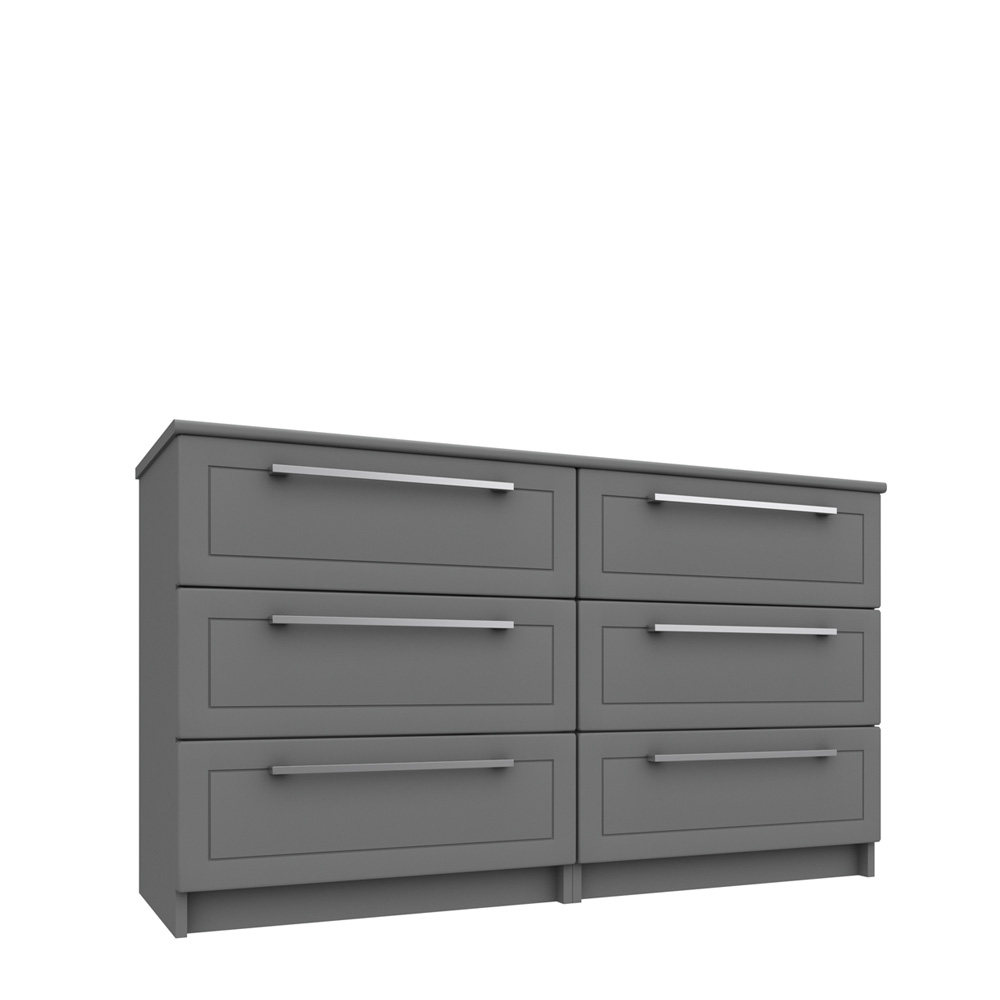 ICKWORTH 3 DRAWER DOUBLE CHEST