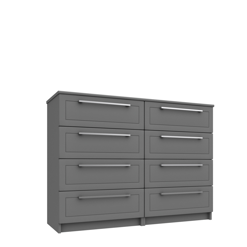 ICKWORTH 4 DRAWER DOUBLE CHEST